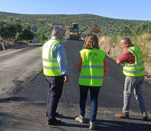El PP de Jaén muestra su satisfacción por los compromisos para mejorar la A-306 y la A-311, que en un futuro se convertirán en autovías.