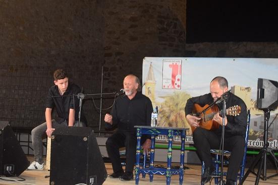 El Circuito «A la Verde Oliva» de Flamenco llegó a Lopera con la actuación de Rafael Ordóñez y Rosario de Córdoba.