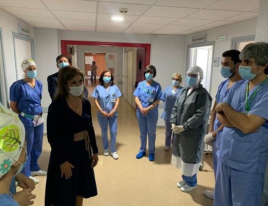 Más de 700 enfermeras realizarán seguimiento a pacientes Covid en Jaén.