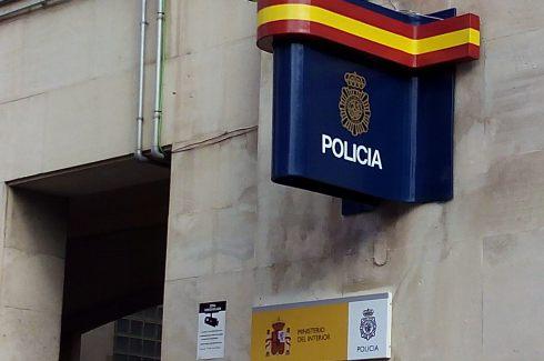 La Policía Nacional detiene en Jaén a un hombre por robo con violencia.