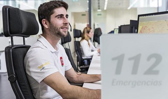 Emergencias 112 coordina el primer semestre de 2020 más de 340.000 incidencias en Andalucía.