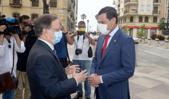Mascarillas en Andalucía