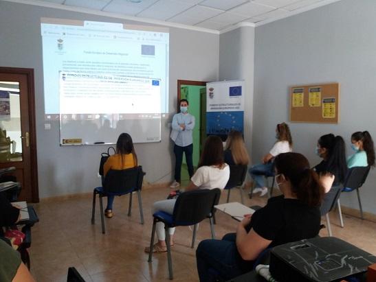 El Ayuntamiento de Andújar reactiva la formación para el impulso de la integración sociolaboral promovido a través de la estrategia DUSI.