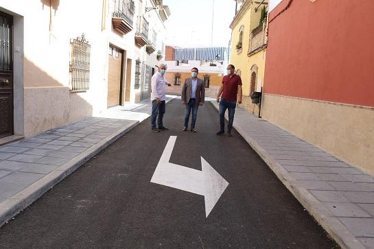 El Ayuntamiento de Andújar mantiene la inversión y prosigue ejecutando mejoras en todos los barrios y pedanías del municipio.