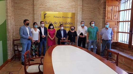 La Diputación habilita en el Palacio Provincial una sala para uso de alcaldes y alcaldesas.