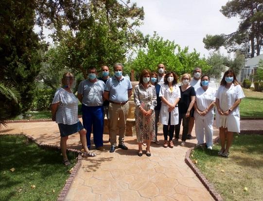 La Consejería de Salud realiza obras en el Centro de Drogodependencias de Lopera.