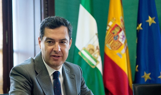 Moreno sitúa a la cultura como uno de los motores para la recuperación de Andalucía tras el Covid-19.