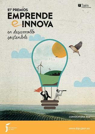 El 30 de septiembre finaliza el plazo para presentarse al 21º Premio Emprende e Innova de la Diputación.