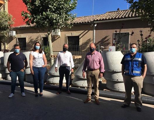 Diputación invertirá más de 202.000 euros en la reforma de la red de abastecimiento de la calle María Bellido de Bailén.
