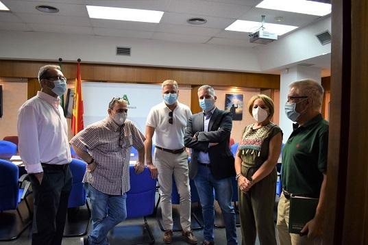 La viceconsejera de Educación se reúne con los equipos directivos de los centros de Jaén.