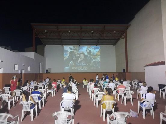 Más de 16.000 espectadores jiennenses han visto las proyecciones incluidas en el Cineverano 2020 de Diputación.