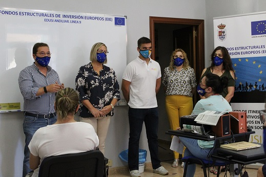 Prosigue la apuesta por la regeneración social y la inserción laboral en el polígono Puerta de Madrid de Andújar.