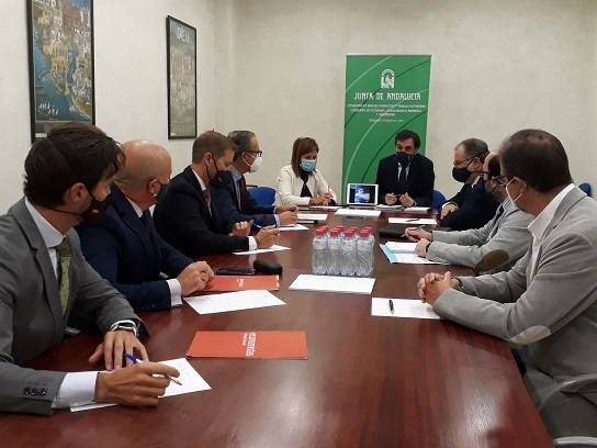 La Junta y los colegios profesionales de economistas, gestores y graduados sociales estarán coordinados en la campaña de aceituna.