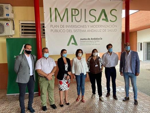 La Junta de Andalucía destina más de 410.000 euros para la reforma y ampliación del Centro de Salud de Mengíbar.