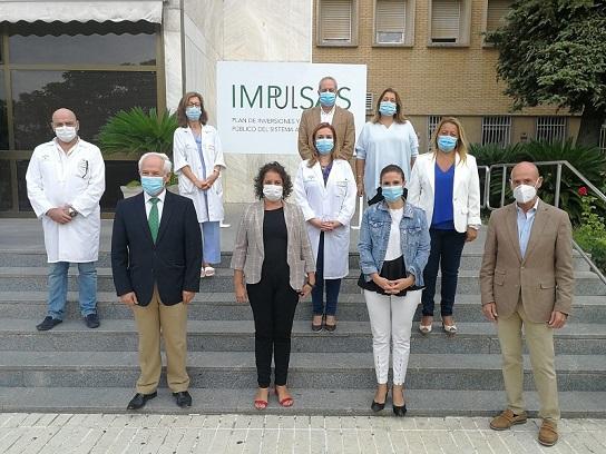 La Junta invierte casi un millón de euros en Linares para acometer obras en infraestructuras sanitarias.