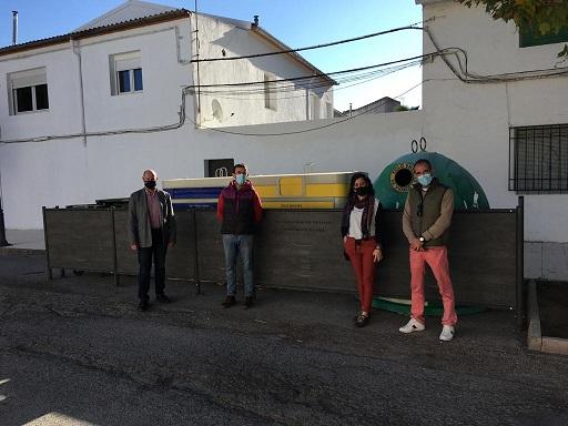 Diputación destina más de 2 millones de euros a integrar los contenedores en los municipios de menos de 20.000 habitantes.