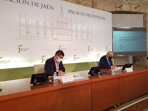 Diputación apoya con otros 25.000 euros la puesta en funcionamiento de los órganos de la IGP Aceite de Jaén.