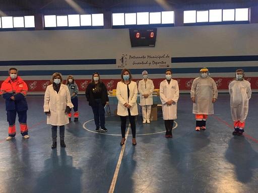 Salud cita a 1.500 vecinos de Quesada Baeza, Segura y Guarromán para cribados con test de antígenos.