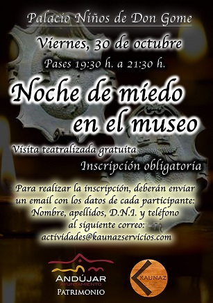 El Ayuntamiento de Andújar impulsa una actividad lúdico-educativa en el Museo Arqueológico con motivo de la festividad de Todos los Santos.