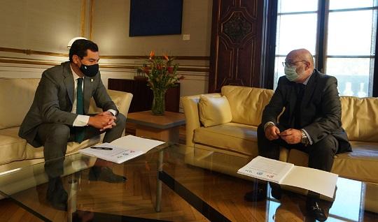 El Gobierno de Andalucía cierra con PP, Cs y Vox un acuerdo para aprobar los Presupuestos de 2021.