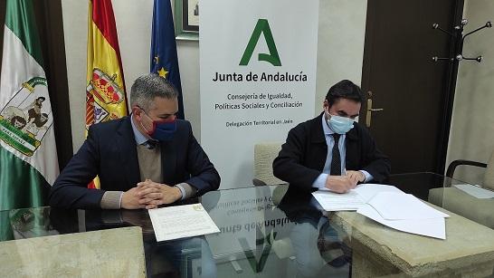 La Consejería de Igualdad concierta 7 plazas en el Centro Ocupacional de Porcuna.