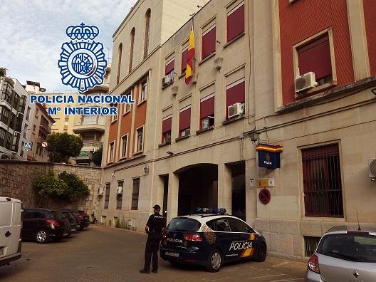 La Policía Nacional detiene en Jaén a un hombre que apuñaló a su compañero de vivienda.