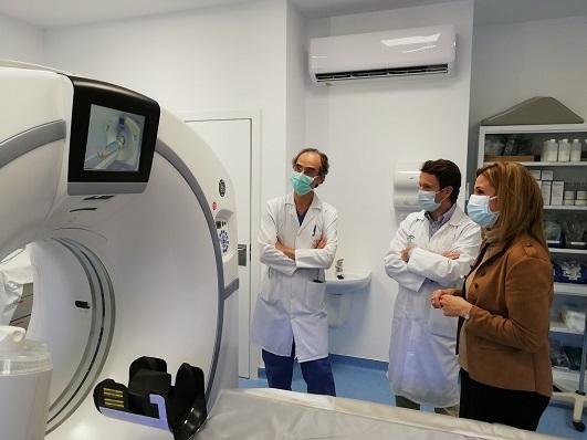 El Hospital de Jaén cuenta con tres nuevos TAC en funcionamiento.
