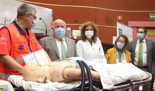 Andalucía investiga la aplicación de fisioterapia respiratoria mecánica en pacientes críticos por Covid.