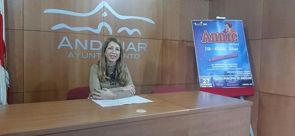 El musical de Annie estará en Andújar el próximo 27 de diciembre enmarcado dentro de la programación navideña elaborada por el Ayuntamiento.