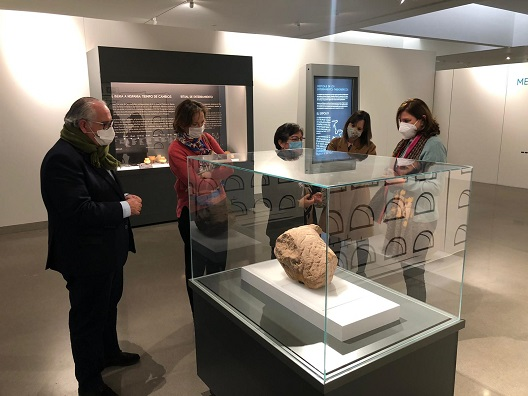El Museo Íbero acoge una exposición sobre el mestizaje en los enterramientos tardoibéricos.