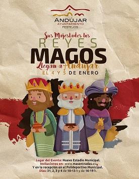 El Ayuntamiento prepara una Cabalgata de Reyes Magos llena de magia e ilusión para los niños y niñas de Andújar.