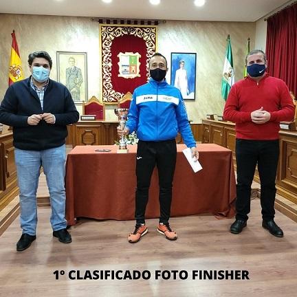 """Entregados los premios de la I Carrera virtual """"Marmolejo Virtual Running""""."""