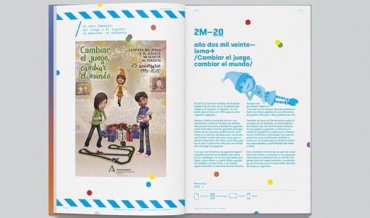 El IAM recopila en un libro conmemorativo los 25 años de campañas del juguete no sexista.