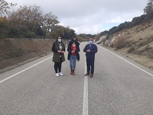 Diputación invierte más de 428.000 euros en las vías que unen Fuensanta de Martos con Castillo de Locubín y Valdepeñas.