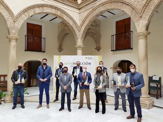 Reyes subraya que los AOVEs Jaén Selección son la punta de lanza de la calidad de los aceites de oliva jiennenses.