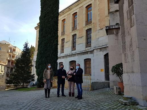 La Diputación sustituirá la cubierta del Palacio Provincial para solventar los problemas de humedades del edificio.