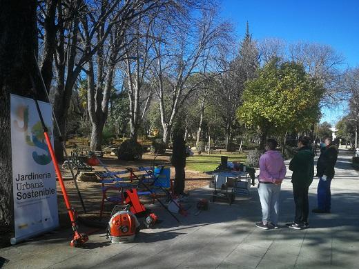 La Diputación de Jaén forma a más de un centenar de personas desempleadas en jardinería urbana sostenible.