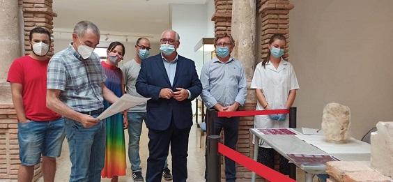 La Consejería de Cultura remodela el Museo Arqueológico de Linares para ampliar su exposición.