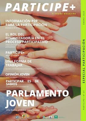 El Ayuntamiento de Marmolejo participa en la edición digital de la revista joven Participe+.