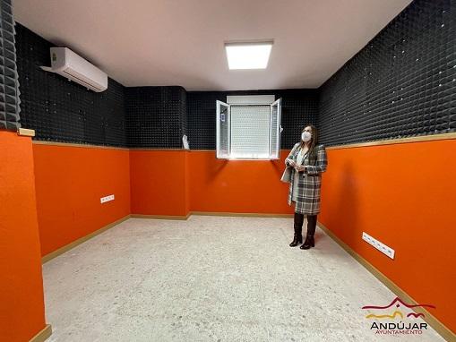 El Ayuntamiento de Andújar impulsa el arreglo de las salas de Ensayo en varias fases.