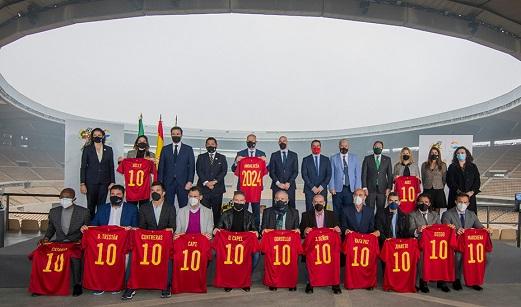 Andalucía acogerá 24 partidos de las selecciones nacionales de fútbol en los próximos cuatro años.