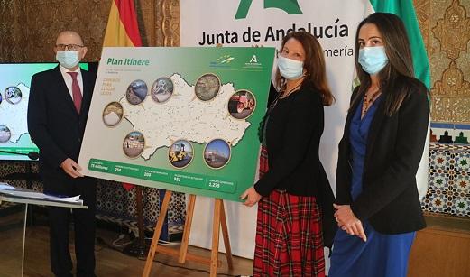 La Junta invierte 75 millones en caminos rurales de 200 municipios de toda Andalucía.