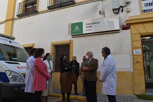 La Consejería de Salud ha invertido 451.200 euros en el Centro de Salud de Lopera.