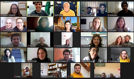 El IAJ forma a jóvenes voluntarios de otros países que llegan a Andalucía para colaborar con ONG.