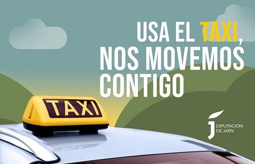 Diputación inicia mañana una campaña promocional para fomentar la utilización del taxi en la provincia.