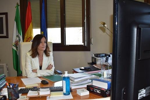 Maribel Lozano anima a más de 200 empresas a sumarse a la transición energética.