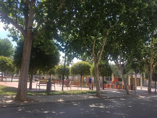 Medio Ambiente de Andújar vuelve a poner a disposición de la ciudadanía los aparatos de gimnasia y los parques infantiles del municipio.