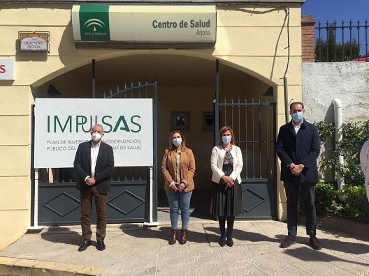 La Consejería de Salud realiza mejoras en el centro de salud de Arjona.