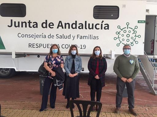 La Junta administra 2.500 dosis de la vacuna AstraZeneca esta semana en Jaén.