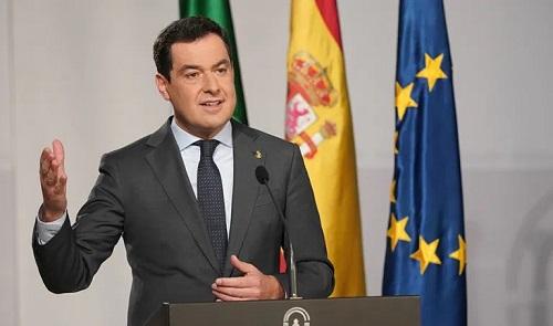 Moreno anuncia un paquete de medidas fiscales para fijar la población en la Andalucía vaciada y en los municipios de menos de 3.000 habitantes.